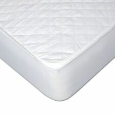 Twin extra long white mattress topper