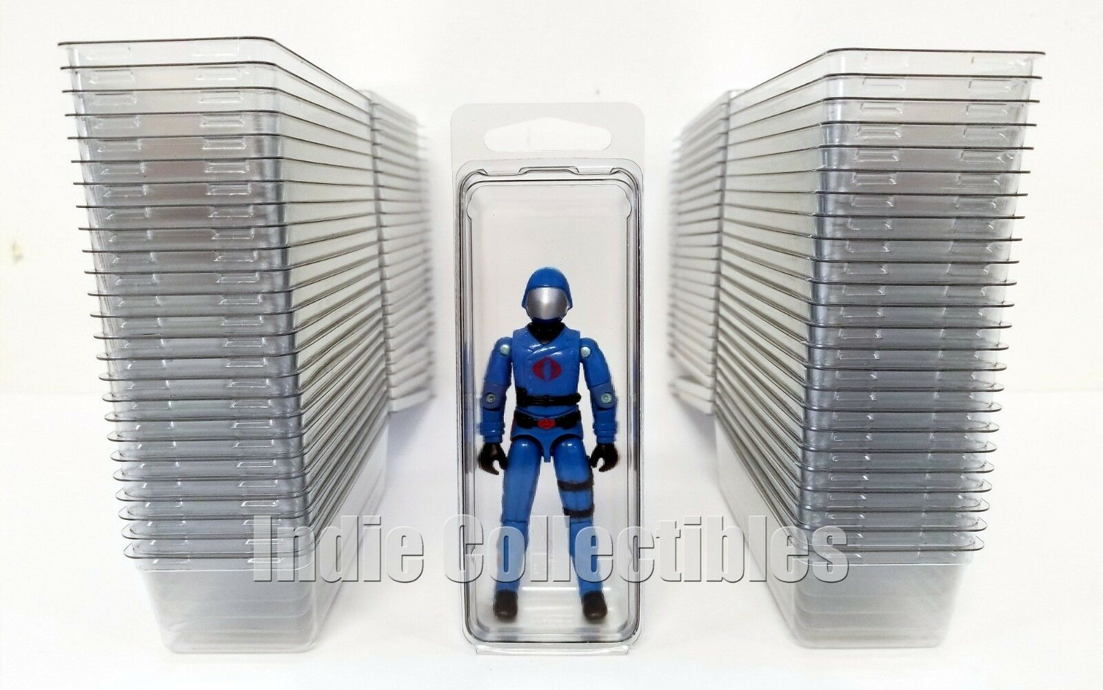 GI JOE BLISTER CASE LOT OF 50 Action Figure Display Predective Clamshell SMALL
