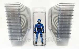 GI JOE BLISTER CASE LOT OF 5 Action Figure Display Protective Clamshell SMALL