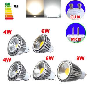 COB-LED-4W-6W-8W-GU10-MR16-Strahler-Spot-Licht-Lampe-Dimmbar
