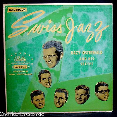Swiss Jazz Hazy Osterwald 1956 Jazz Album Bally Bal