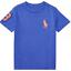 Polo-Ralph-Lauren-Enfants-Garcons-Filles-a-encolure-ras-du-cou-manches-courtes-T-Shirt-top-2-To miniature 19