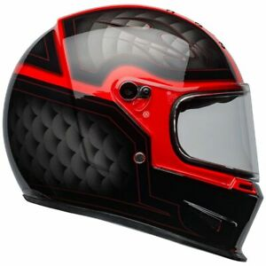 Bell-Eliminator-Full-Face-Motorcycle-Helmet-Outlaw-Gloss-Black-Red-M-L