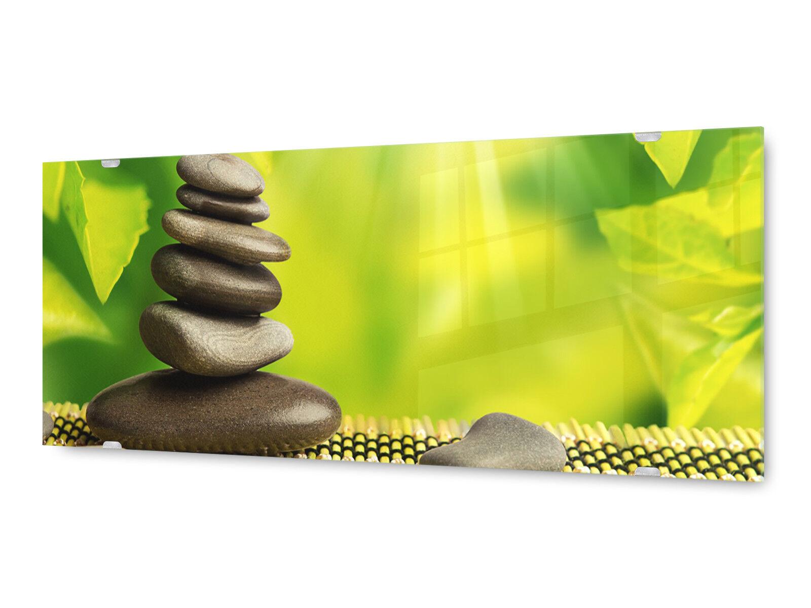 Image la fresque glx12546669599 steinturm feuilles 125 X 50 cm