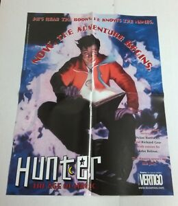Hunter The Age Of Magic Promo Poster Dc Vertigo 01 John