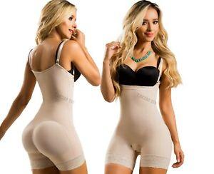 Faja Colombiana Reductora Seamless Thermal Full Body Shaper Butt Lifter