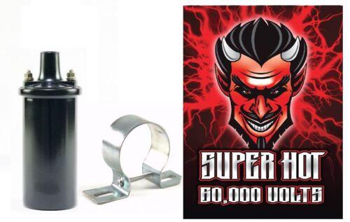 "60,000 Volts 12V /""Super Hot/"" Coil 3.0 ohm Internally resisted"