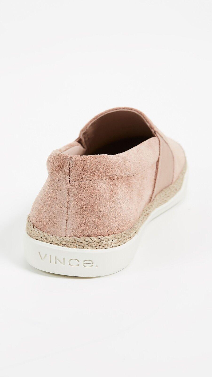 NIB Vince Johan Johan Johan Suede Slip On Sneakers bluesh  225 488332