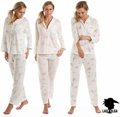 New Lady olga Nightwear Pyjamas Sleepwear Blue Pink Lilac Sizes 10 to 24 LRD550