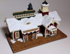 Thomas-Kinkade-Hawthorne-034-Village-Christmas-Station-034-Limited-Edition-COA