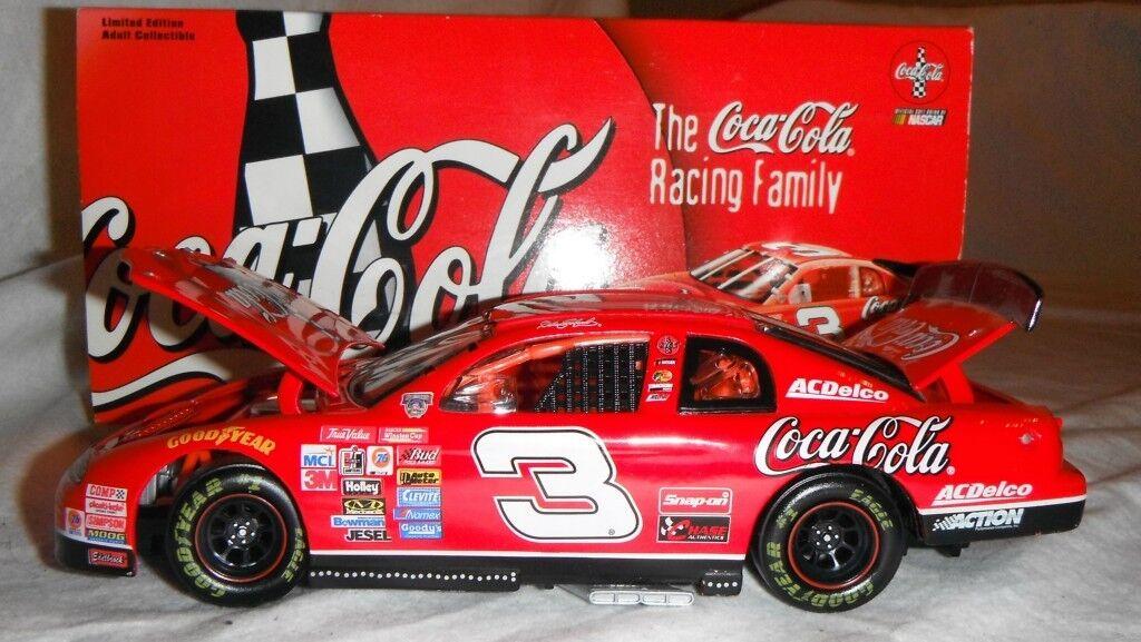 NASCAR DALE EARNHARDT #3 COKE 1998 MONTE CARLO