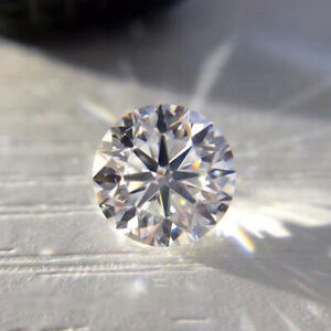 Loose Moissanite Stone 0.8-3mm 1ct lot White D Color Round Cut