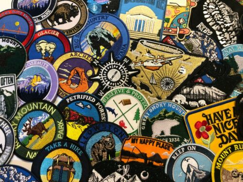 Not All Those Who Wander Are Lost Patch Iron On Biker Aussie Embroidered