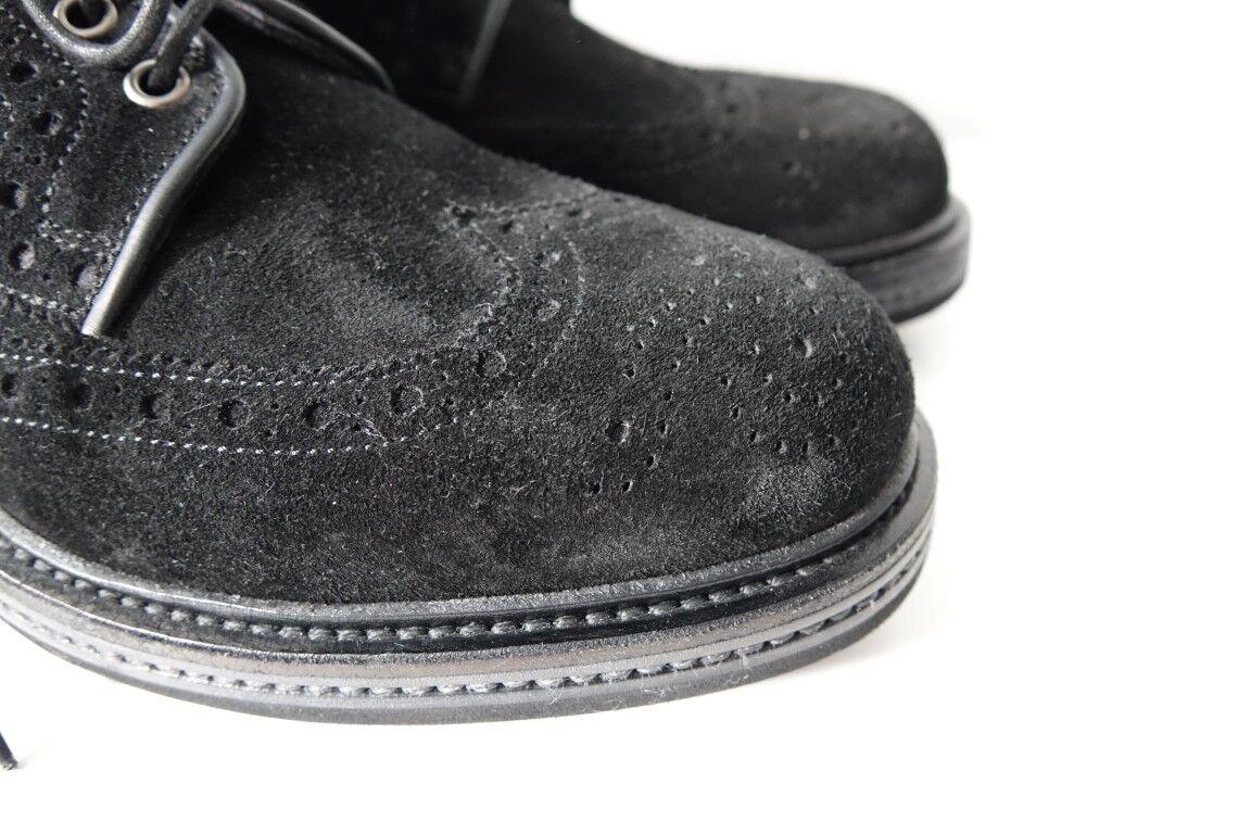 SANTONI Schuhe Boots Stiefel Businessschuhe - Herren Gr. 8 (42) - Businessschuhe NEU/ORIGINAL 4da585