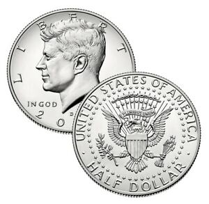 Mint Roll Coins 2001 D President Kennedy Half Dollar Fifty Cent Coin Money U.S