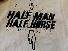 MENS ORG. SPENCERS Knit In USA FUNNY HALF MAN HALF HORSE SEXy T-shirt XL NWOT