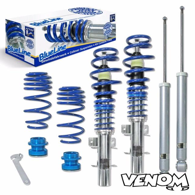 Jom Blueline Height Adjustable Coilovers Suspension Kit Skoda Fabia 6Y-741105