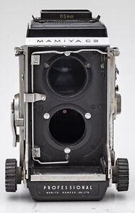 Mamiya-C3-Professional-TLR-Mittelformatkamera-Camera-Body-Gehaeuse