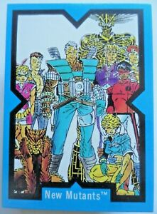 1991-Marvel-X-Force-Comic-Images-90-Card-Set