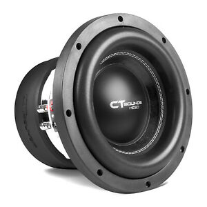 CT Sounds Meso 10 Inch Car Subwoofer 3000 Watts MAX Dual 2 Ohm Audio D2 Sub