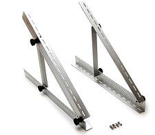 Adjustable Solar Panel Mount Mounting Rack Bracket Set Folding Tilt Legs,22-inch