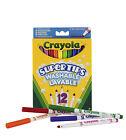 Crayola - 12 Supertips Filzstifte Auswaschbar