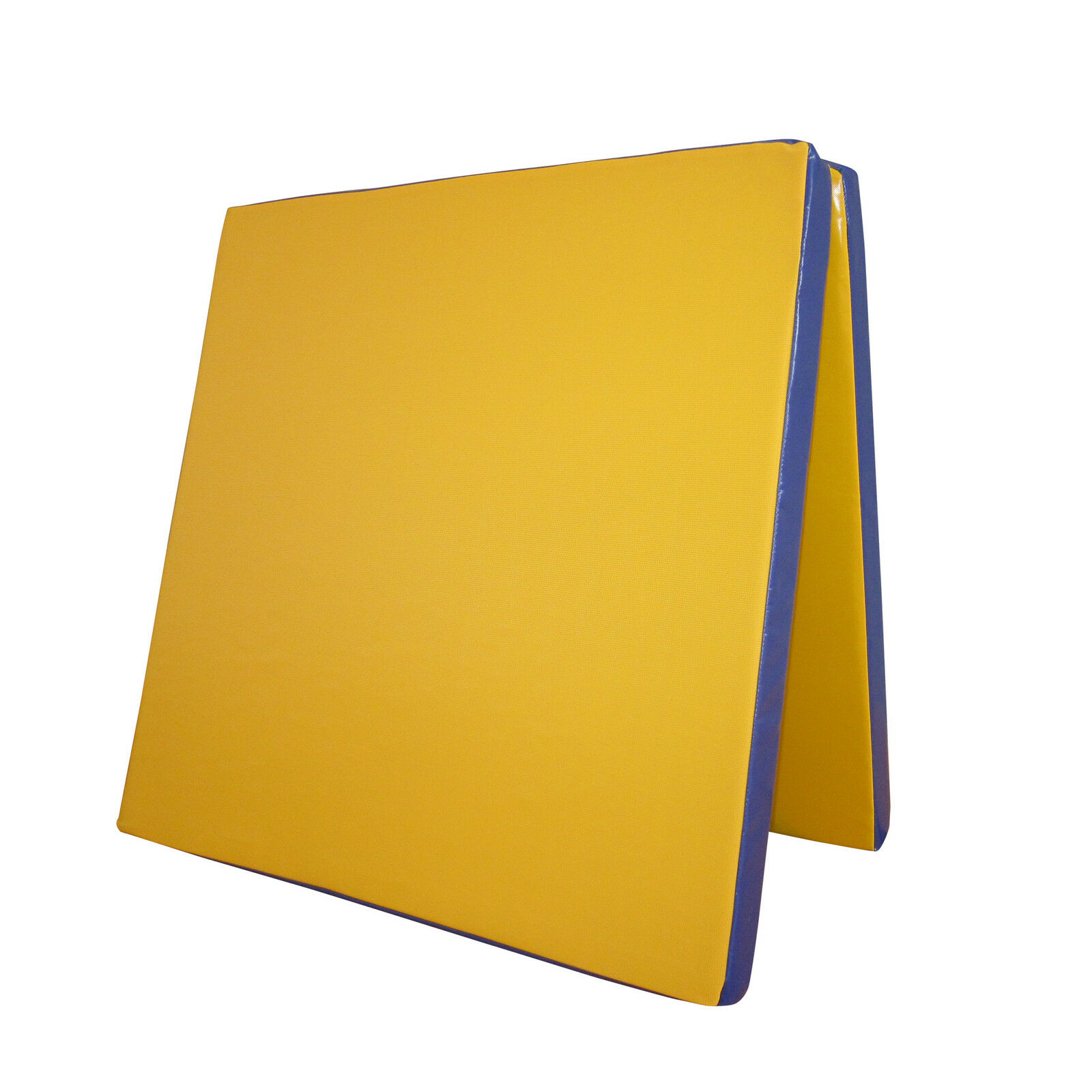 Grevinga® FUN Turnmatte klappbar | 200 x 100 x 6 cm | GELB - BLAU | RG 35