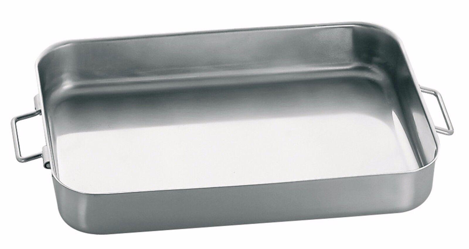 Piazza Effepi Teglia acciaio inox 3 misure