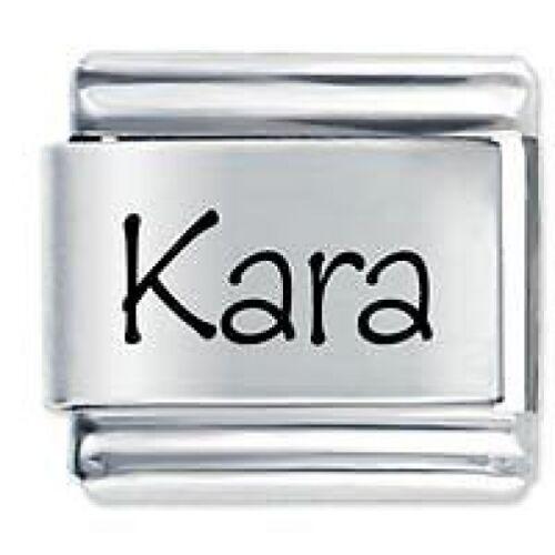 Daisy Charm Fits Nomination Classic Size Italian Charms Bracelet KARA Name
