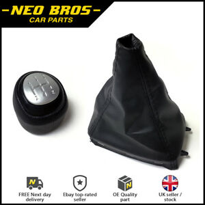 Gear-Knob-amp-Leather-Gaitor-for-Saab-9-3-03-12-5-Speed-Manual