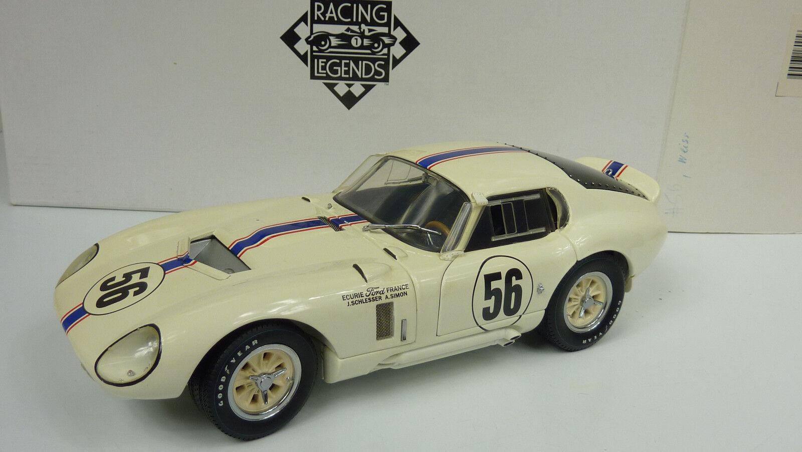 Exoto Racing Legens 1 18 SHELBY COBRA COBRA COBRA DAYTONA COUPE 1965 in OVP (A659)  | Vielfalt  b530b1