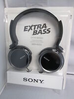 Sony Mdrxb250/b Extra Bass Headphones Driver 30 Mm Sensitivity98 Db/mw Mdr-xb250