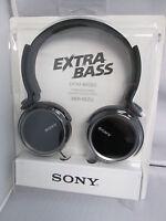Sony Mdrxb250/b Extra Bass Headphones Driver 30 Mm Sensitivity98 Db/mw Mdr-xb250