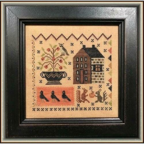 Crow/'s Corner Scarlett House Cross Stitch Pattern