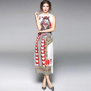 the latest 317a2 64b2c Dettagli su Elegante vestito abito regina cuori maniche lungo colorato slim  morbido 4281