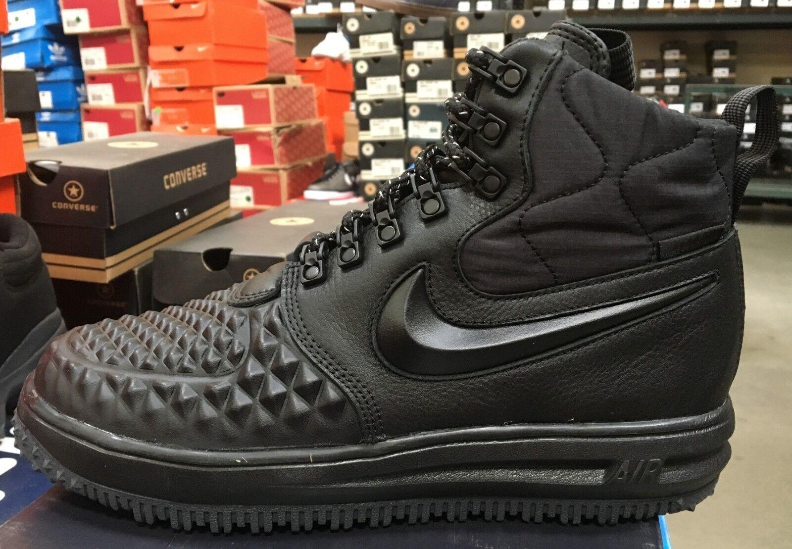 Nike Air Lunar Force LF1 Duckboot 17 Men's Basketball Boots Black  916682 002  K