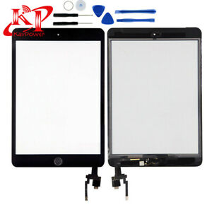 For-iPad-Mini-3-A1600-Screen-Digitizer-Replacement-Glass-Touch-Black-IC-Home