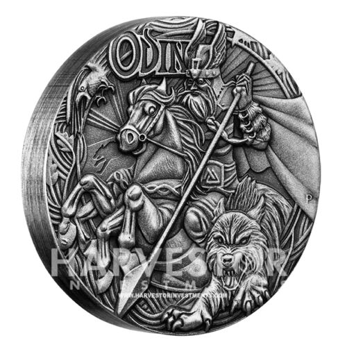MINTAGE 2000 SOLD OUT AT MINT PERTH MINT NEW SERIES 2016 NORSE GODS ODIN