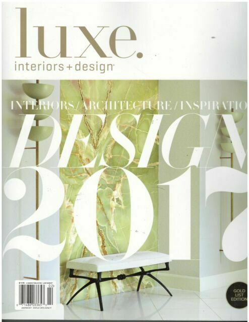 Luxe Interiors Design September October 2019 Magazine For Sale Online Ebay