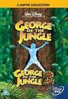 George of The Jungle 1 and 2 DVD Region 2