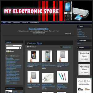ELECTRONIC-STORE-Turnkey-Affiliate-Website-Dropship-FREE-Domain-Hosting
