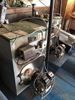 Beckett Oil Burner Unit Afg Chassis Boiler Furnace Hot