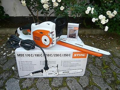STIHL Elektro Kettensäge Motorsäge Elektrosäge MSE 250 C-Q 40 cm 1,6 RS Kette