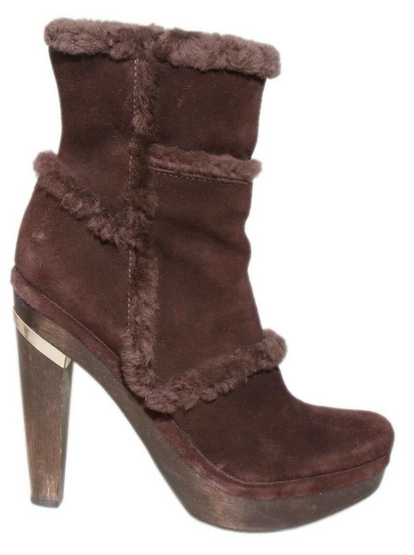 DVF Brown Suede Booties (SIZE 6.5)