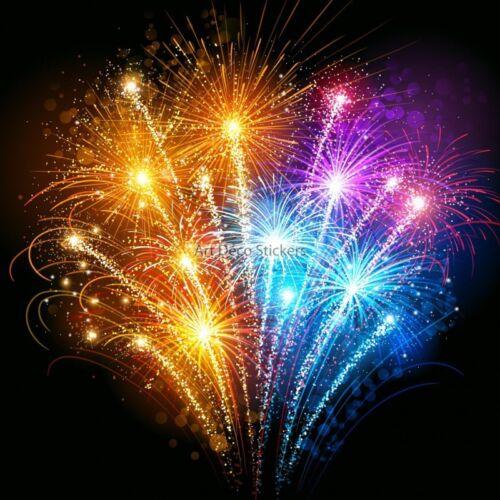 Wall stickers deco fireworks ref 11058 11058