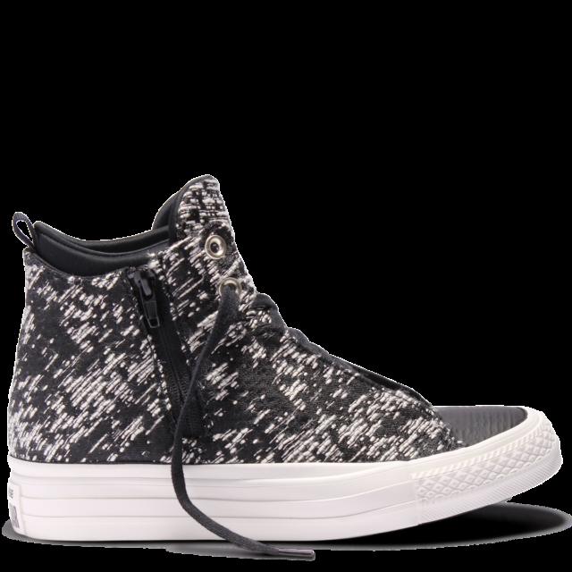 6faca29cf75 Converse Chuck Taylor All Star Selene Winter Knit High Top Black - WMNS  Size 10