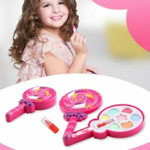 Kids-Girl-Princess-Makeup-Cosmetic-Suit-Toys-Box-Bag-Pretend-Play-for-Travel-New