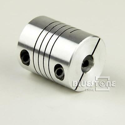 Kinds 6/6.35/8/10/12mm Flexible Shaft Coupling CNC Stepper Motor Coupler D25L30