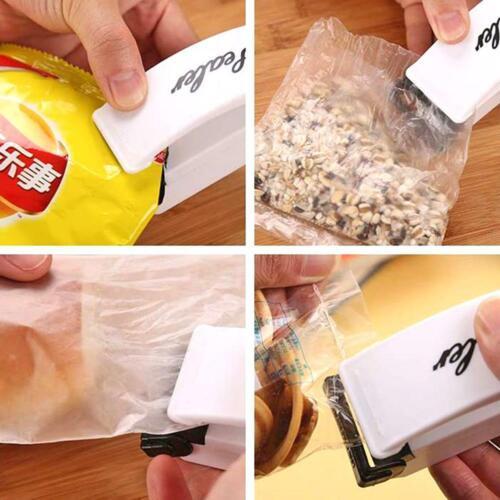 Portable Mini Heat Sealing Machine Household Food Bag Package Sealer Capper #VIC