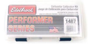 EdelBrock-1487-Carburetor-Jet-Calibration-Kit-Fits-1406-Performer-Series-Carb